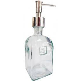 Distributeur de savon en verre recyclé - 250 ml - Anaé