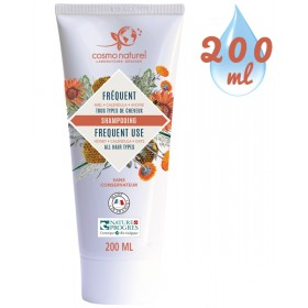 Shampooing Usage Fréquent Miel Calendula Avoine – 200 ml – Cosmo Naturel
