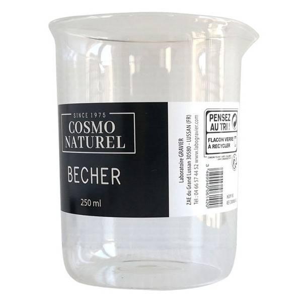 Kit accessoires cosmétiques DIY : Bécher en verre de 250 ml