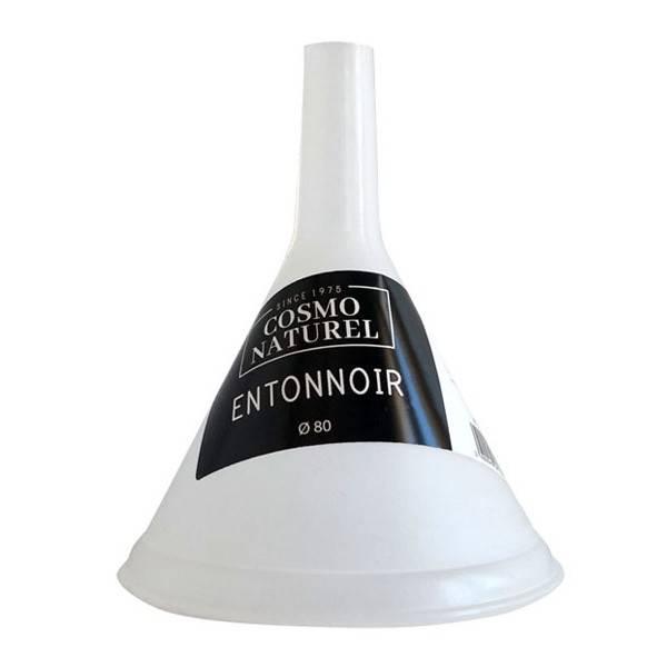 Kit accessoires cosmétiques DIY : entonnoir Ø 80mm