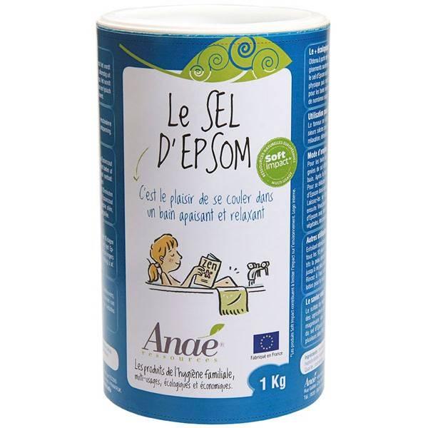 Pack Relaxation - Sel d'Epsom 1 kg - Anaé