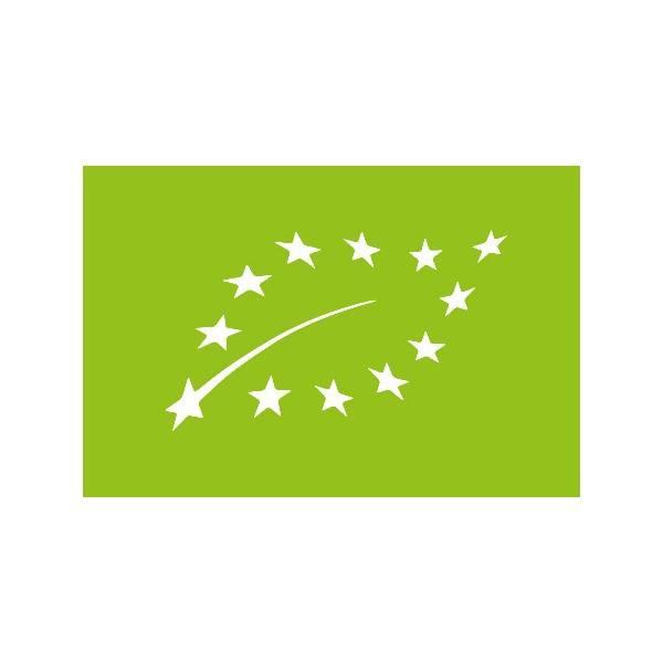 Logo Eurofeuille, logo bio européen pour l'huile essentielle de ciste ladanifère Ladrôme
