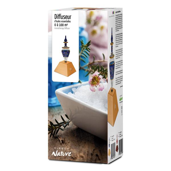 Boîte du diffuseur Pyramide Saphir - 100 m² - Direct Nature