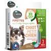 3 pipettes insectifuge Bio pour chiot et petit chien - Biovétol