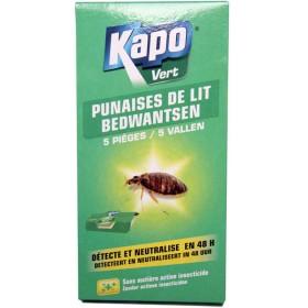 Pièges à punaises de lit x5 - Kapo Vert