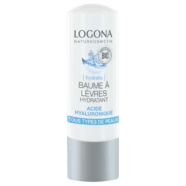 Baume lèvres hydratant acide hyaluronique - 4,5 g – Logona - Vue 1