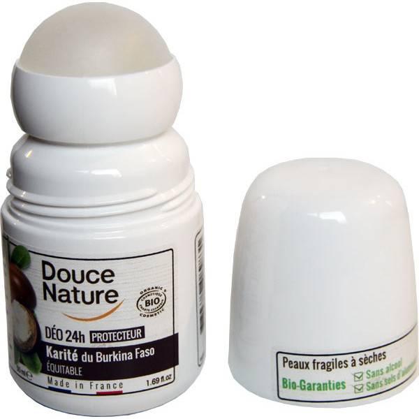 Déodorant bille Karité équitable du Burkina faso  – 50 ml – Douce Nature - Vue 1