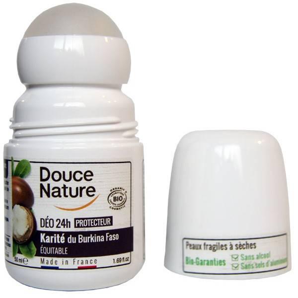 Déodorant bille Karité équitable du Burkina faso  – 50 ml – Douce Nature - Vue 2