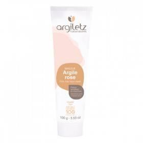Masque argile rose - Peaux sensibles et réactives - 100g - Argiletz