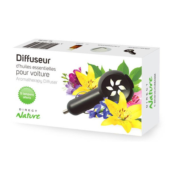 Boîte diffuseur Aroma Car Direct Nature