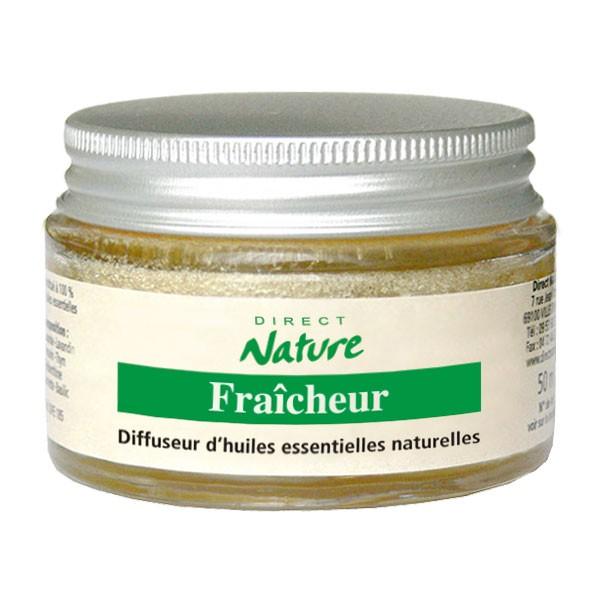 Diffuseur éponge d'huiles essentielles Fraîcheur 45 ml - Direct Nature