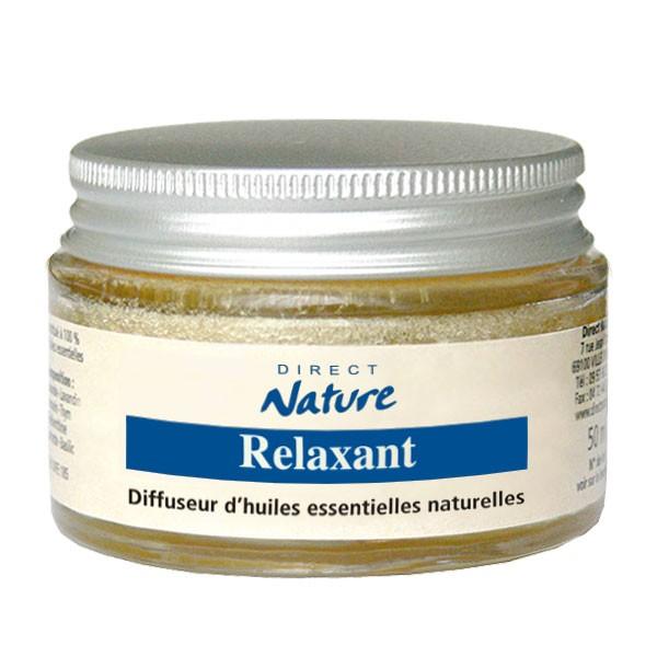 Diffuseur éponge d'huiles essentielles Relaxant 45 ml - Direct Nature
