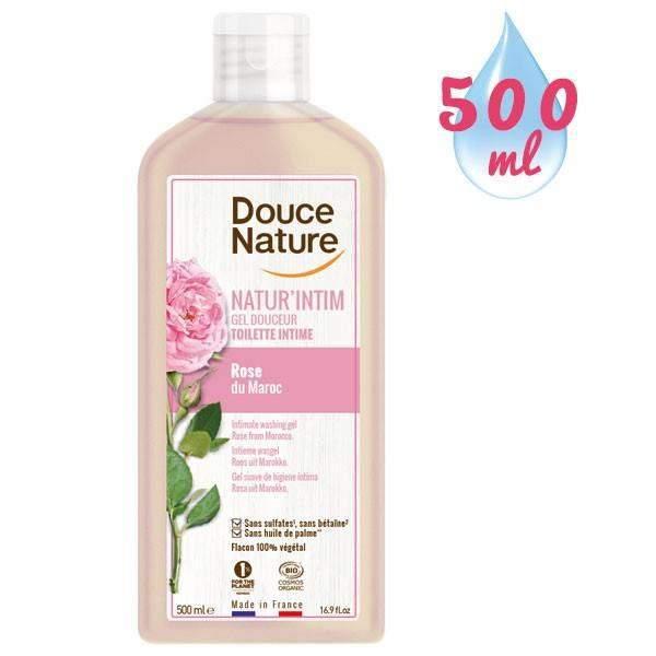 Gel douceur toilette intime Natur'Intim Rose du Maroc bio – 500 ml - Douce Nature