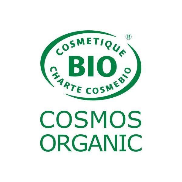 Logo Cosmebio pour le gel douceur toilette intime Natur'intim Calendula bio et huile essentielle de géranium bio – 400 ml - Douc