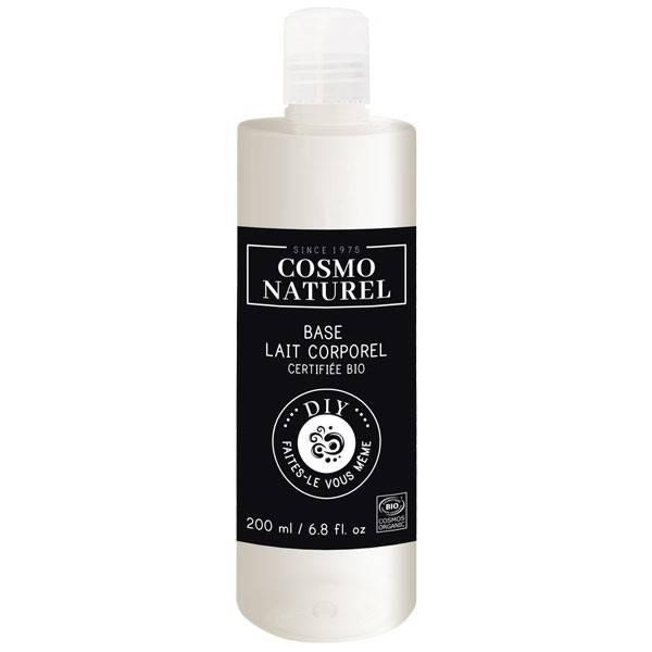 Base lait corporel Bio - 200 ml - Cosmo Naturel DIY