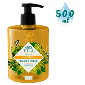 Gel bain & douche Passion des Îles Ylang Ylang – 500 ml – Cosmo Naturel