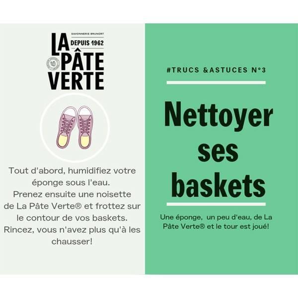 Astuce d'utilisation n°3 du Savon bio La Pâte Verte
