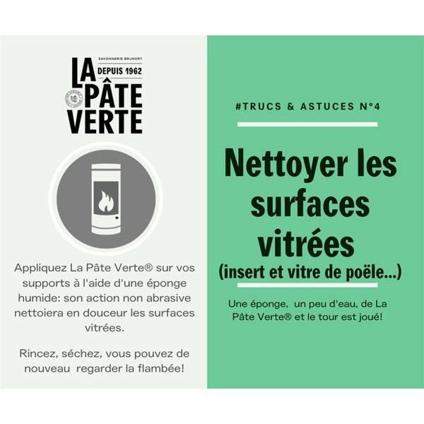 Astuce d'utilisation n°4 du Savon bio La Pâte Verte