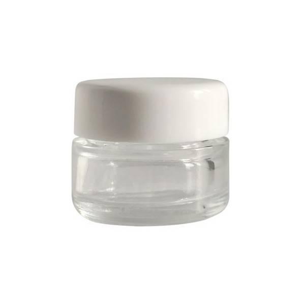 Pot en verre pour cosmétiques maison - 5 ml - Cosmo Naturel
