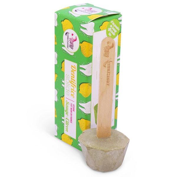 Dentifrice solide à la sauge et au citron - 17 gr - Lamazuna