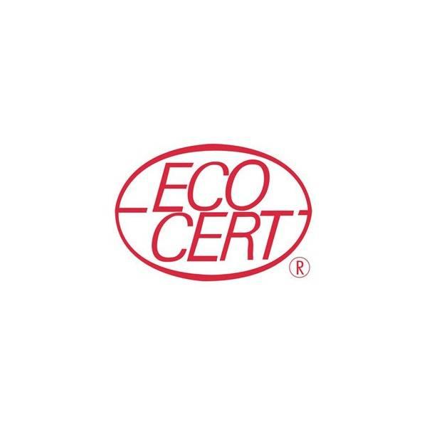 Logo Ecocert pour le shampooing solide cheveux gras Argile Sauge Ortie Bio - 85gr - Cosmo Naturel