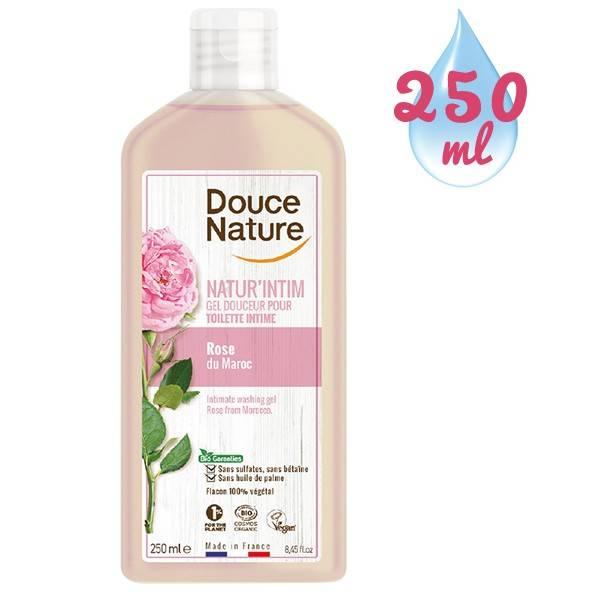 Gel douceur toilette intime Natur'Intim Rose du Maroc bio – 250 ml - Douce Nature