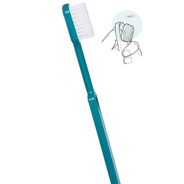 Brosse à dents rechargeable Turquoise Caliquo