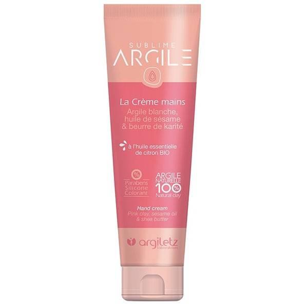 Crème mains argile blanche - 50 ml - Argiletz
