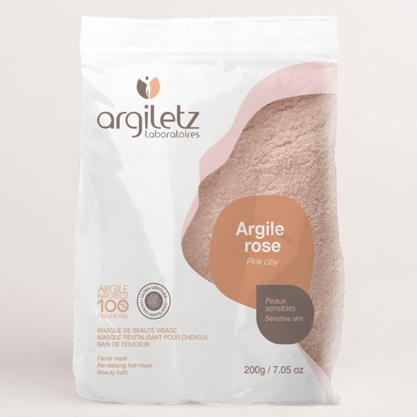 Argile rose ultra-ventilée – 200 gr – Argiletz