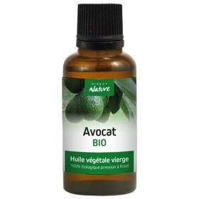 Huile végétale d'avocat Bio – 30 ml – Direct Nature