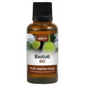 Huile végétale de Baobab Bio – 30 ml – Direct Nature