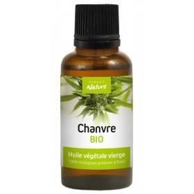 Huile végétale de Chanvre Bio – 30 ml – Direct Nature