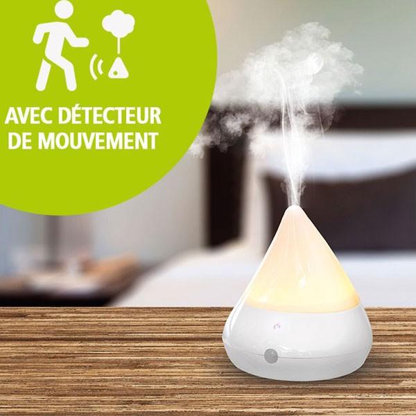 Brumisateur & diffuseur Mouvéa bois blanc - 30 m² - Vue 1