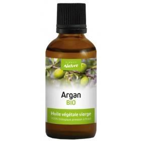 Huile végétale d'argan Bio – 50 ml – Direct Nature