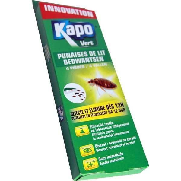 Pièges à punaises de lit x4 - Kapo Vert - Vue 1