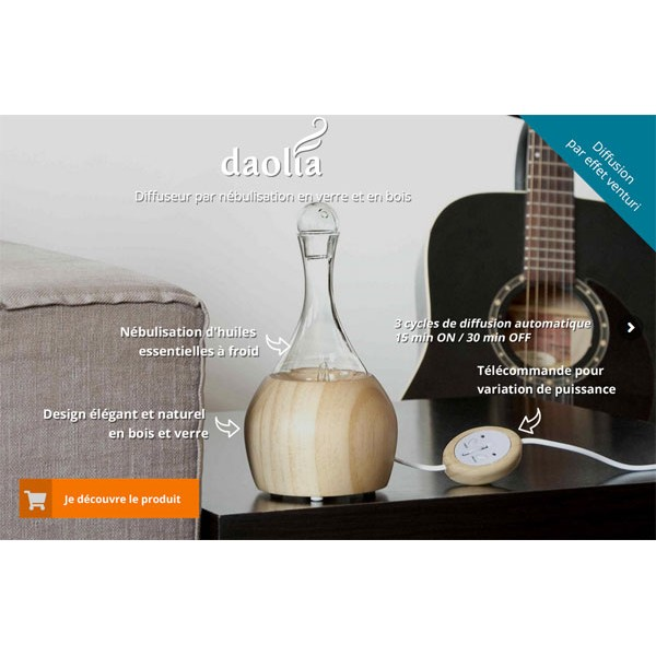 Diffuseur Daolia - Caractéristiques
