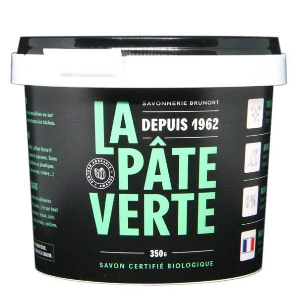 Savon bio La Pâte Verte - Pot de 800 grs - Savonnerie Brunort