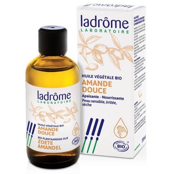 Huile végétale Amande douce Bio – 100 ml – Ladrôme