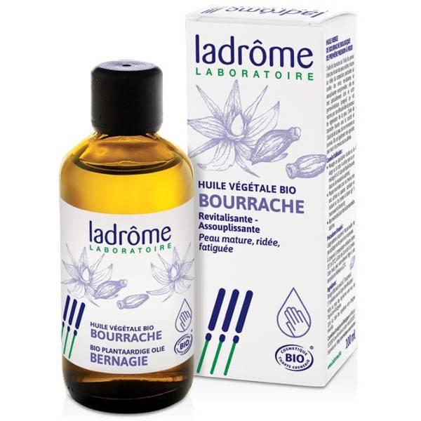 Huile végétale de Bourrache Bio – 100 ml – Ladrôme
