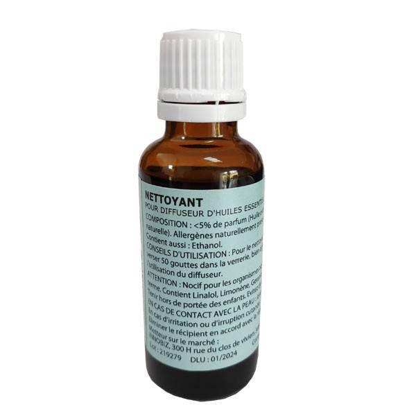 Nettoyant pour diffuseur d'huiles essentielles par nébulisation – 30 ml