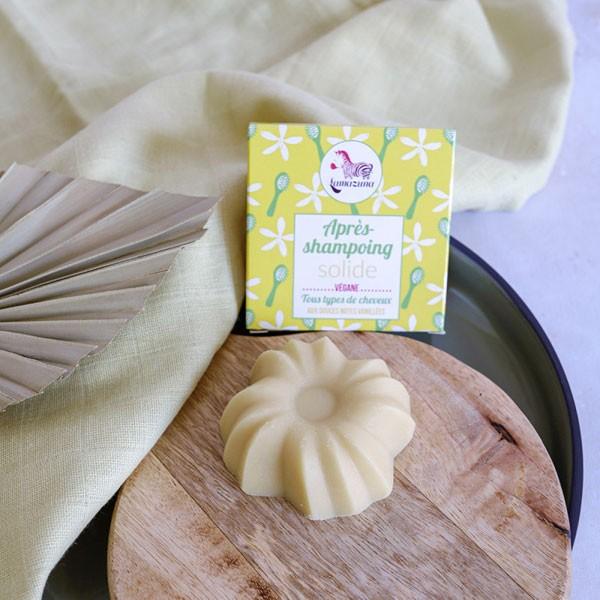 Après shampooing solide bio vanille - Lamazuna - image ambiance 1