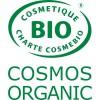 logo Cosmebio pour l'après shampooing solide bio vanille  Lamazuna