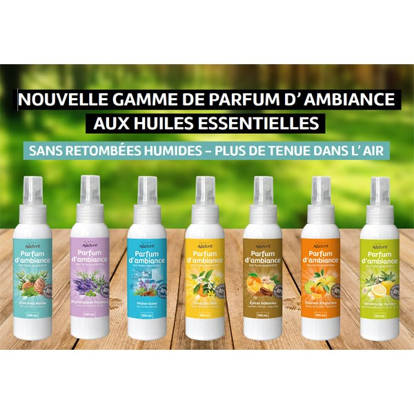Gamme de parfum d'ambiance Direct Nature - 100 ml