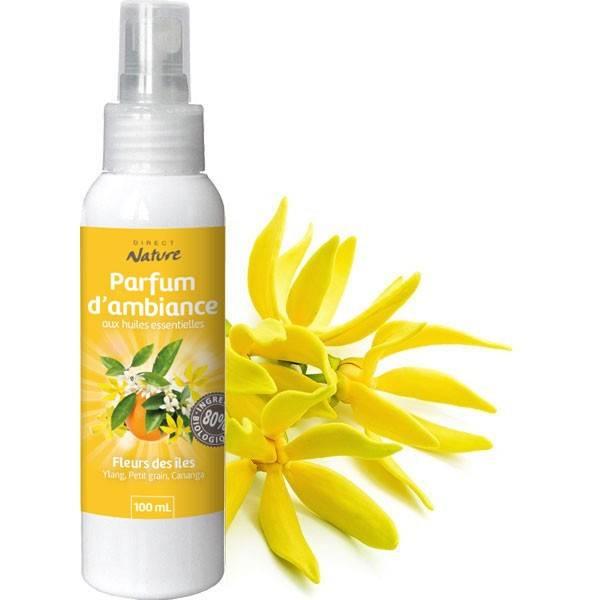 Spray Fleurs des îles – 100 ml - Direct Nature