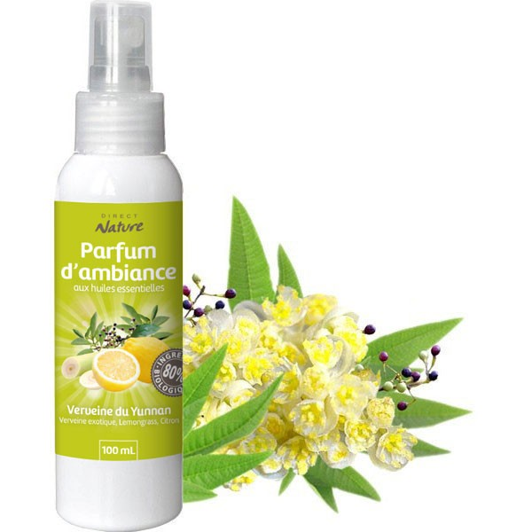 Spray Verveine du Yunnan – 100 ml - Direct Nature