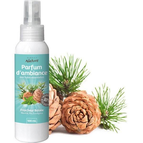 Spray Fraîcheur boisée – 100 ml - Direct Nature