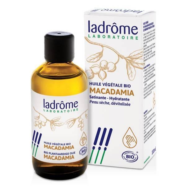 Huile végétale Macadamia bio – 100 ml – Ladrôme