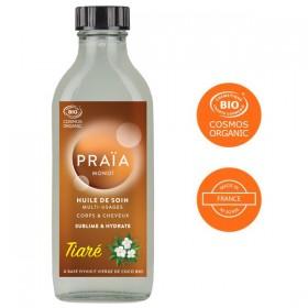 Huile de soin multi-usages au Tiaré - 100 ml - Praïa