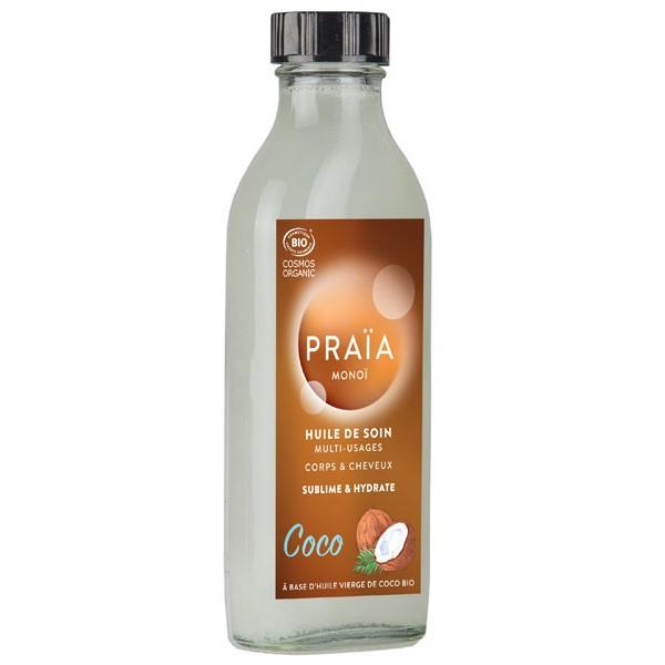 Huile de soin multi-usages au coco Praïa - Vue 1