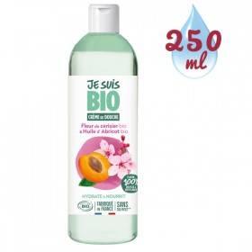 Crème de douche Fleur de Cerisier bio et Abricot bio - 250 ml - Je suis Bio